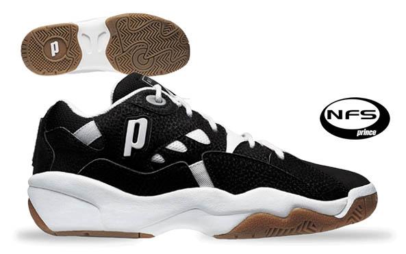 Prince Nfs Ii Men S Squash Shoe Black White
