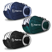 Harrow 6 Racquet Bag/Backpack (Black/Silver)