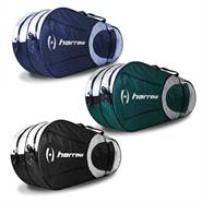 Harrow 6 Racquet Bag/Backpack (Black/Silver)