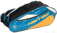 Harrow Dynasty Racquet Bag (Royal/Yellow/White)