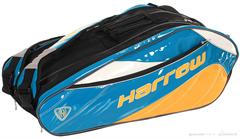 Harrow Dynasty Racquet Bag (Royal/Yellow/White)