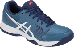 NEW Asics Gel Dedicate 5 Men's Tennis Shoe (Azure/White)