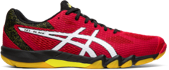 Asics Gel Blade 7 Men's Shoe (Speed Red/White)