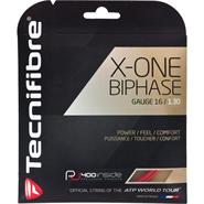 Tecnifibre X-One Biphase (16 Gauge) Red Set