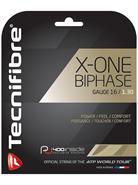Tecnifibre X-One Biphase (16 Gauge) Natural Set