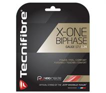 Tecnifibre X-One Biphase (17 Gauge) Red Set