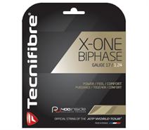 Tecnifibre X-One Biphase (17 Gauge) Natural Set