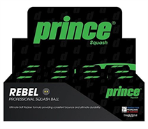 Dozen Prince Rebel Double Yellow Dot Balls
