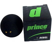 Prince Rebel Double Yellow Dot Ball