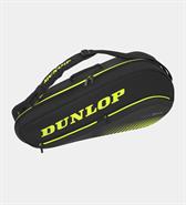 Dunlop SX Performance 3 Racquet Bag (Black/Yellow)