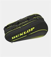 Dunlop SX Performance 8 Racquet Bag (Black/Yellow)