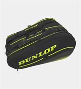 Dunlop SX Performance 12 Racquet Bag (Black/Yellow)