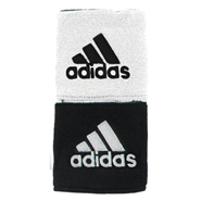 Adidas Interval Reversible Wristbands (White/Black)