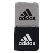 Adidas Interval Reversible Wristbands (Black/Grey)