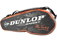 NEW Dunlop Performance 8 Racquet Bag (Black/Red)-Ali Farag