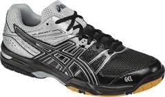 NEW Asics Gel Rocket 7 Men's Shoe (Black/Silver)