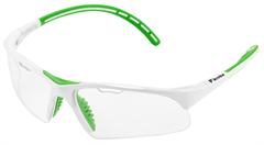 Tecnifibre Squash Eyewear (White/Green)
