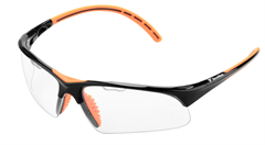 Tecnifibre Squash Eyewear (Black/Orange)