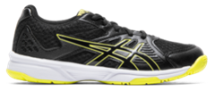 Asics Gel Upcourt 3 GS Junior Shoe (Black/Sour Yuzu)