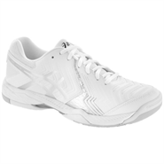 Asics Gel Game 6 Men's Tennis Shoe (White/Silver)