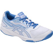 NEW Asics Gel Upcourt 2 Women's Shoe (White/Regatta Blue/Airy Blue)