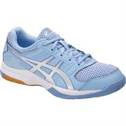 NEW Asics Gel Rocket 8 Women's Shoe (Airy Blue/Silver/White)