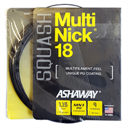 NEW Ashaway MultiNick 18 Squash String (1 Set)