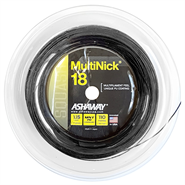NEW Ashaway MultiNick 18 Squash String (1 Reel)