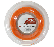 Tecnifibre X-One Biphase String 18 Gauge Orange (Reel)