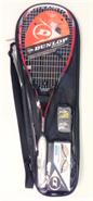 Dunlop Fusion Graphite Squash Pack