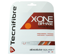 Tecnifibre X-One Biphase String 18 Gauge Orange (Set)