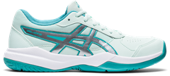 Asics Gel Game 7 GS Kid's Tennis Shoe (Bio Mint/Pure Silver)