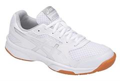 NEW Asics Gel Upcourt 2 Women's Shoe (White/Silver)