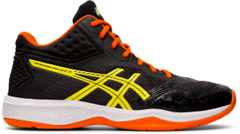 Asics Gel Netburner Ballistic FF MT Men's Shoe (Black/Sour Yuzu)