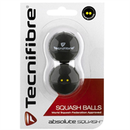 Tecnifibre Squash Balls DYD (2 Pack) - OUT OF STOCK