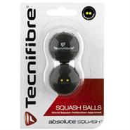 Tecnifibre Squash Balls DYD (2 Pack)