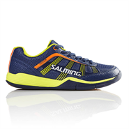 NEW Salming Adder Junior Shoe (Blue/Yellow)