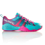 NEW Salming Kobra Women's Shoe (Turquoise/Pink)