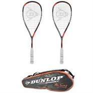 NEW Dunlop Hyperfibre+ Revelation Pro-Ali Farag-8 Racquet Performance Bag Special