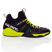 NEW Salming Kobra Mid Men's Shoe (Black/Yellow)