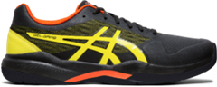 Asics Gel Game 7 Men's Tennis Shoe (Black/Sour Yuzu)