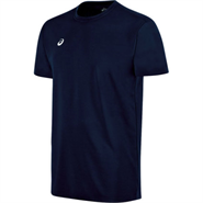 Asics Circuit 8 Warm-Up Short Sleeve Shirt (Navy)