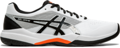 Asics Gel Game 7 Men's Tennis Shoe (White/Black)