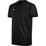 Asics Circuit 8 Warm-Up Short Sleeve Shirt (Black)