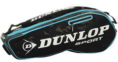NEW Dunlop Performance 3 Racquet Bag (Black/Blue)