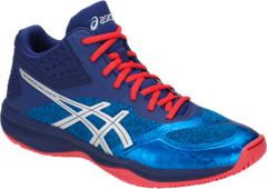 NEW Asics Gel-Netburner Ballistic FF MT Men's Shoe (Race Blue/Blue Print)