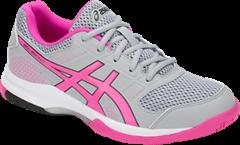 NEW Asics Gel Rocket 8 Women's Shoe (Mid Grey/Pink Glow)