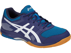NEW Asics Gel Rocket 8 Men's Shoe (Blue Print/White)