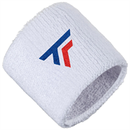 Tecnifibre Wristbands 2 Pack (White)
