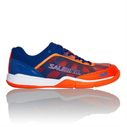 NEW Salming Falco Men's Shoe (Limoges Blue/Orange)